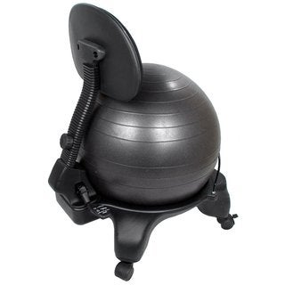Adjustable Back Exercise Ball Chair wIth Pump