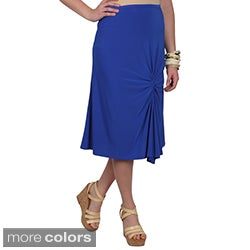 Journee Collection Juniors Stretchy Gathered Skirt
