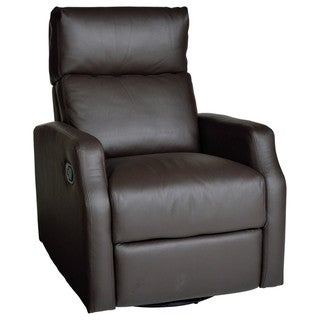 Sidney Leather Swivel Glider Recliner