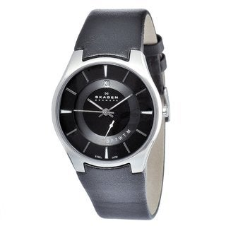 Skagen Men's Stainless Steel Day and Date Watch