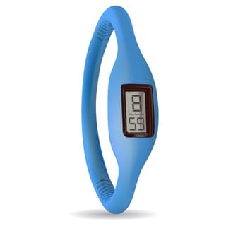 TAGI Gear Women's 'Ion' Blue Silicone Watch
