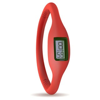 TAGI Gear Women's 'Ion' Red Silicone Watch