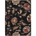 Meticulously Woven Pocatello Floral Shag Rug