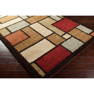 Meticulously Woven Hauser Geometric Plush Shag Geometric Plush Shag Rug
