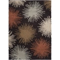 Meticulously Woven Donnelly Geometric Plush Shag Rug