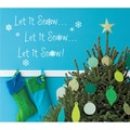 Vinyl Attraction 'Let it Snow!' Vinyl Wall Art
