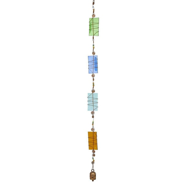 Wrap It Up! Hand Blown Glass Wind Chime (India)
