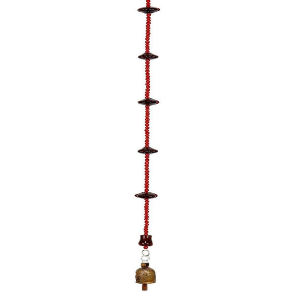 Red Hot Wind Chime (India)