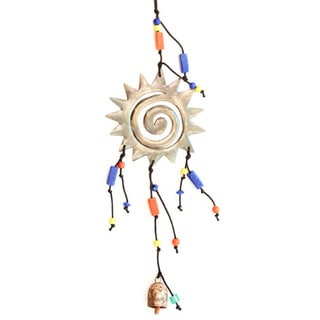 Swirling Sun Wind Chime (India)