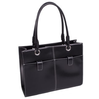 McKlein Women's 'Angelina' Faux Leather Ladies' Business Tote