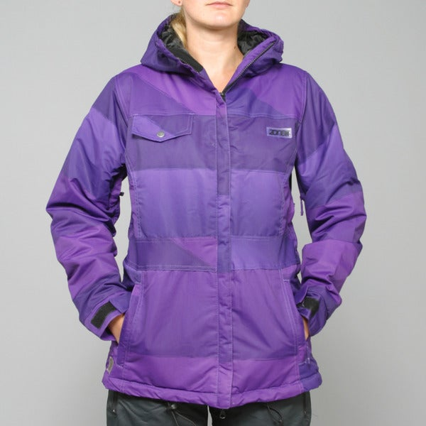 Zonal Women's 'Surface' Purple Snowboard Jacket