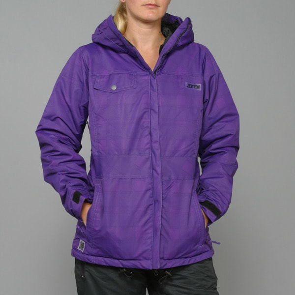 Zonal Women's 'Tavern' Purple Snowboard Jacket