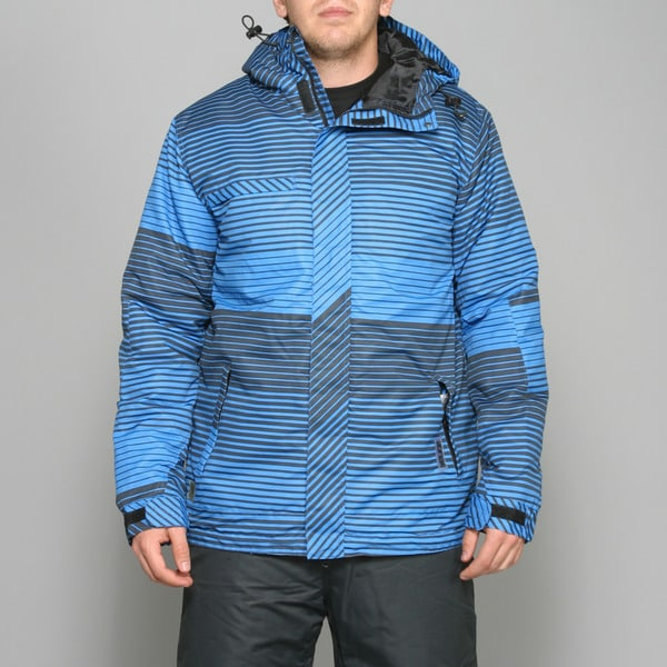 Zonal Men's 'Linner' Skydiver Blue Snowboard Jacket