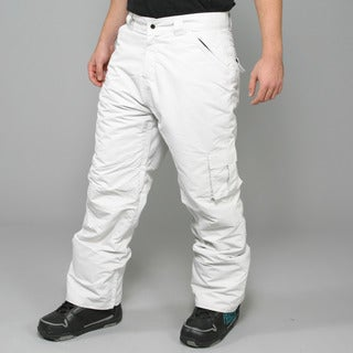 Zonal Men's 'Redhill' Light Silver Snowboard Pants
