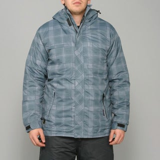 Zonal Men's 'Redwood' Pewter Snowboard Jacket