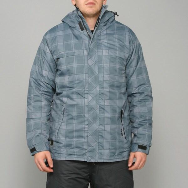 Zonal Men's 'Redwood' Pewter Snowboard Jacket