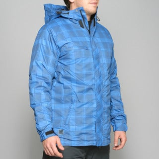 Zonal Men's 'Redwood' Skydiver Blue Snowboard Jacket