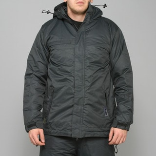 Zonal Men's 'Scanner' Caviar Snowboard Jacket