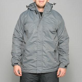 Zonal Men's 'Scanner' Pewter Snowboard Jacket