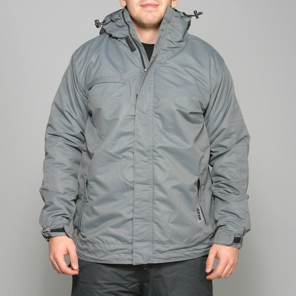 Zonal Men's 'Scanner' Pewter Snowboard Jacket