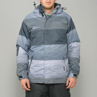 Zonal Men's 'Transit' Pewter Snowboard Jacket