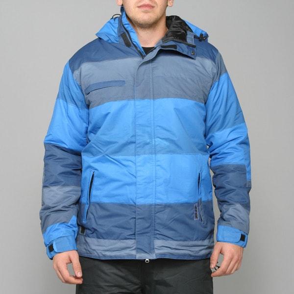 Zonal Men's 'Transit' Skydiver Blue Snowboard Jacket