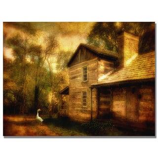 Lois Bryan 'Family Farm III' Canvas Art