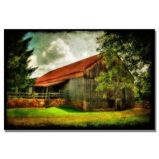 Lois Bryan 'Our Old Barn' Canvas Art