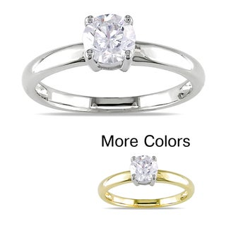 Miadora 14k Gold 3/4ct TDW Certified Diamond Solitaire Engagement Ring (G-H, I1-I2)