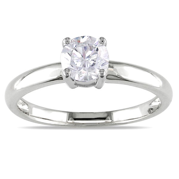 Miadora Signature Collection 14k Gold 3/4ct TDW Certified Diamond Solitaire Engagement Ring (G-H, I1-I2)
