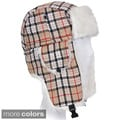 Solegear Plaid Winter Trapper Hat