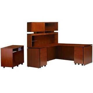 Mayline Stella Series Desk with Return Workstation #15 (72 x 30)