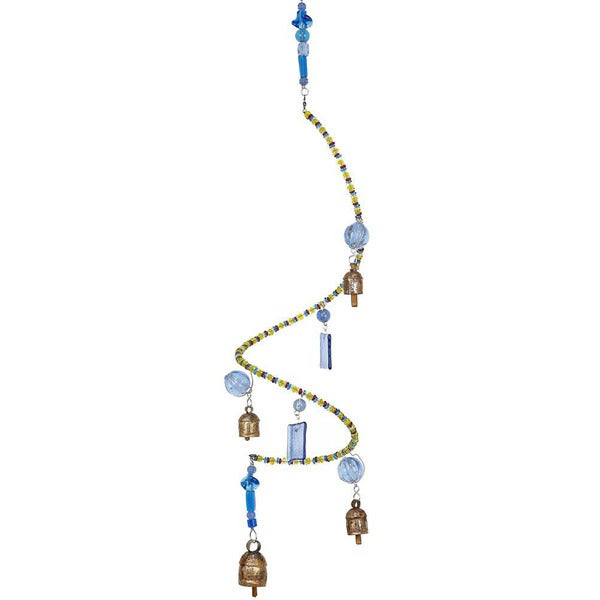 Great Balls of Blue Wind Chime (India)