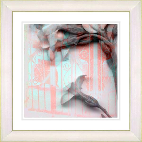 Studio Works Modern 'Morning Bloom Flowers' Framed Giclee Print