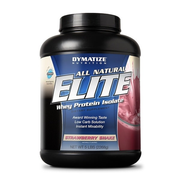 Dymatize Elite All-natural Whey Protein Isolate (5 Pounds)
