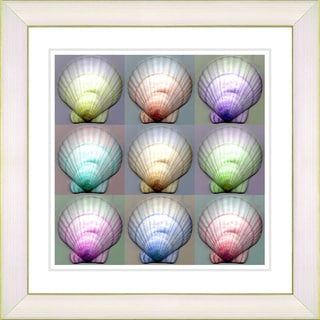 Studio Works Modern 'Tahitian Seashell Collection-I' Framed Print