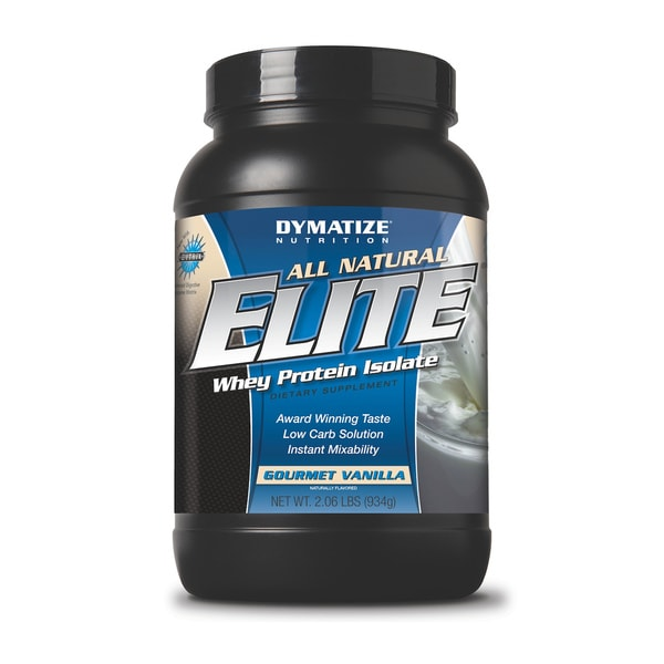Dymatize Elite All-natural Whey Protein Isolate (2 Pounds)