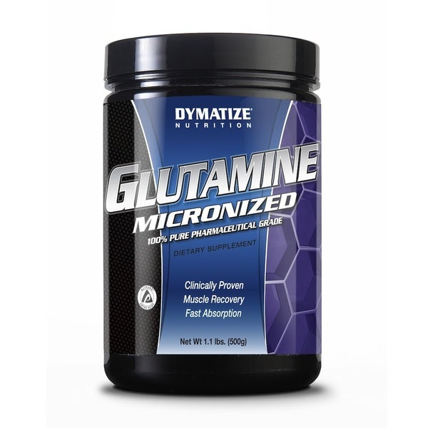Dymatize Micronized Glutamine (1.1 Pounds)
