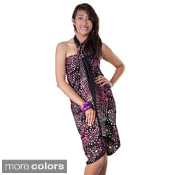 Premium Heavyweight Abstract Sarong (Indonesia)