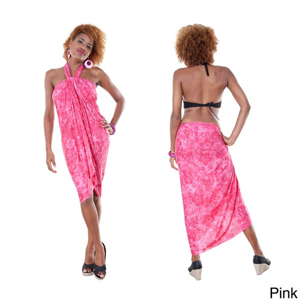 Hibiscus Flower Sarong (Indonesia)