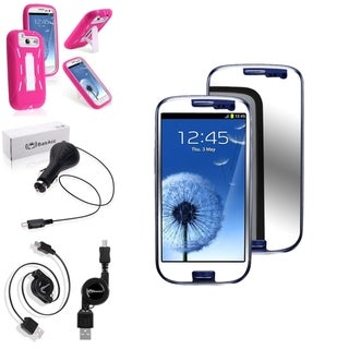 BasAcc Case/ Screen Protector/ Charger for Samsung� Galaxy S3