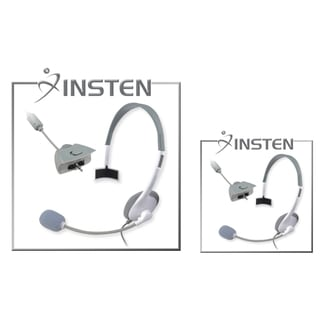 BasAcc Headset with Microphone for Microsoft Xbox 360 (Pack of 2)