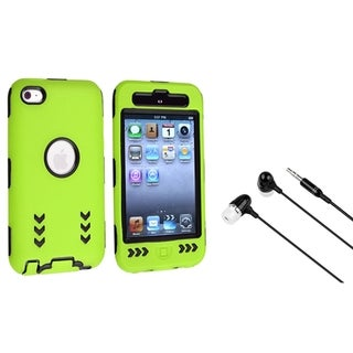 BasAcc Hybrid Case/ Headset for Apple iPod Touch 4th Generation