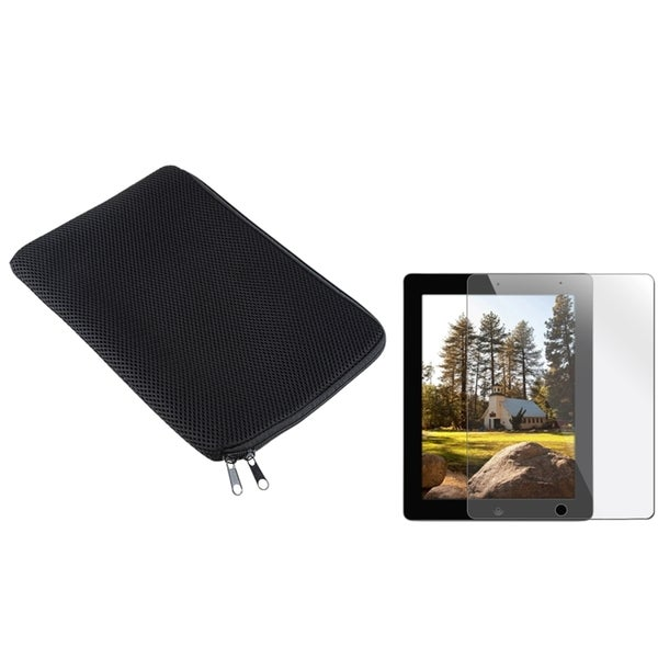 INSTEN Sleeve/ Screen Protector for Apple iPad 2/ 3