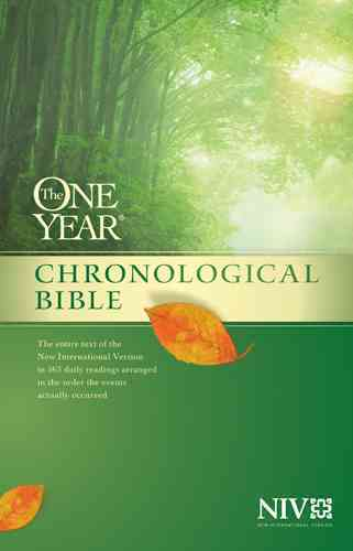 The One Year Chronological Bible: New International Version (Paperback)