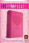 Girls Life Application Study Bible: New Living Translation Pink Heart LeatherLike (Paperback)