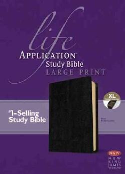 Life Application Study Bible: New King James Version, Black, Bonded Leather (Paperback)