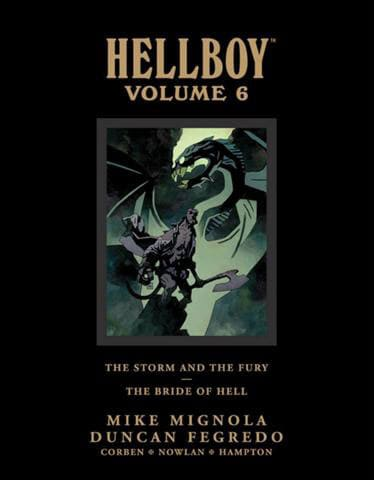 Hellboy Library Edition 6: The Storm and the Fury & The Bride of Hell (Hardcover)
