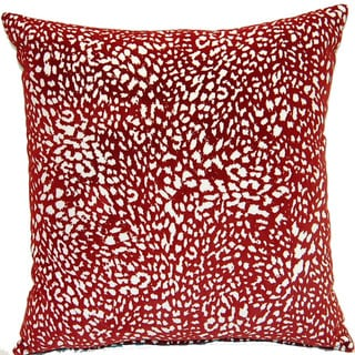 Jumanji Red 17-inch Pillows (Set of 2)