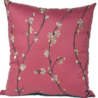 Calico Garnet 17-inch Pillows (Set of 2)